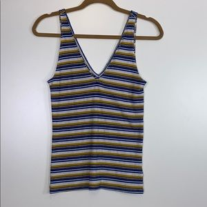 Express I 90's Striped Tank Size Medium